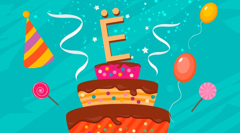 С днём рождения буква Ё